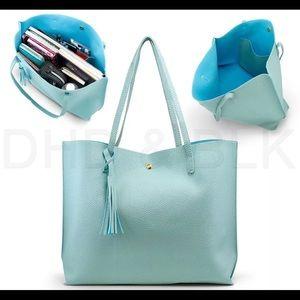 Women Synthetic Leather Handbag Shoulder Ladies Pu